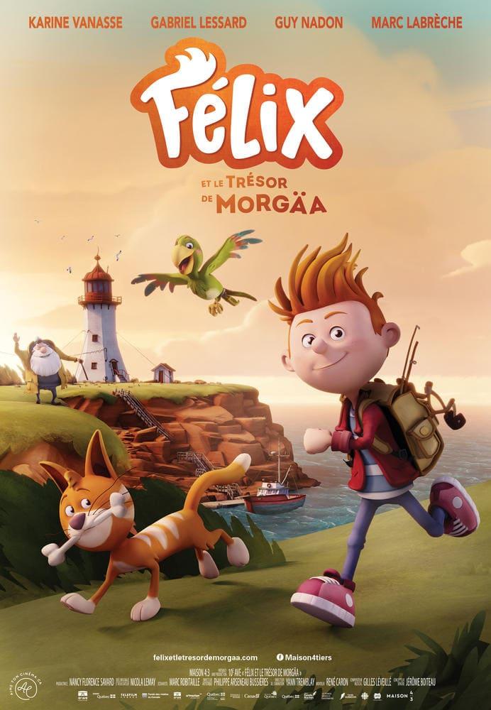 affiche du film felix et le tresor de morgaa