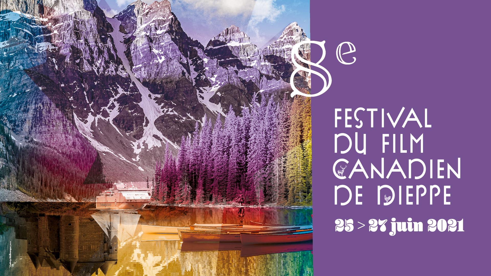 bandeau 8è edition du festival du film canadien de dieppe